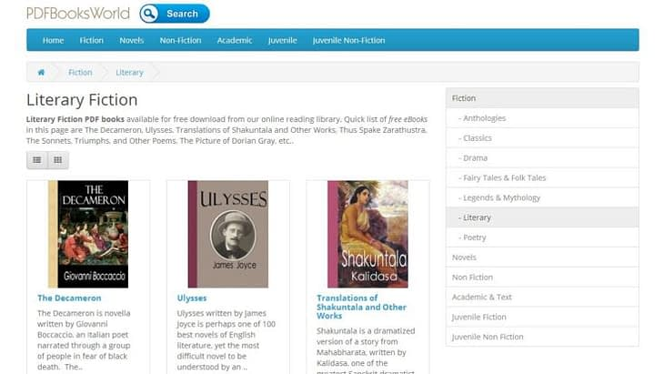 PDFBooksWorld for free ebooks download
