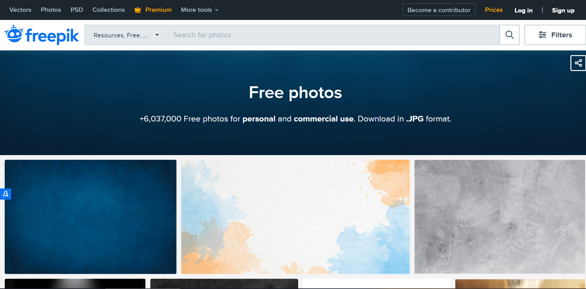 Freepik stock images