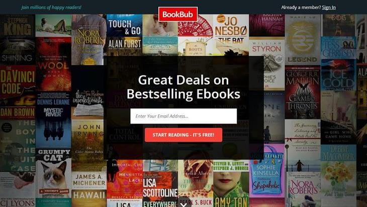 BookBup for free ebooks download