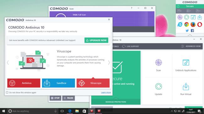 Comodo Free Antivirus