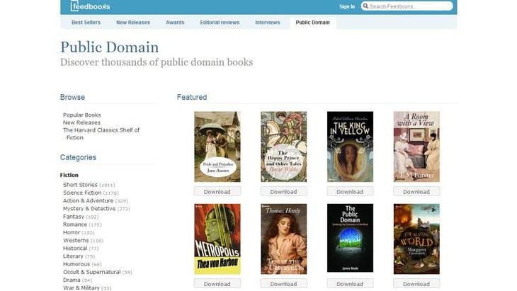 freebooks for public domain