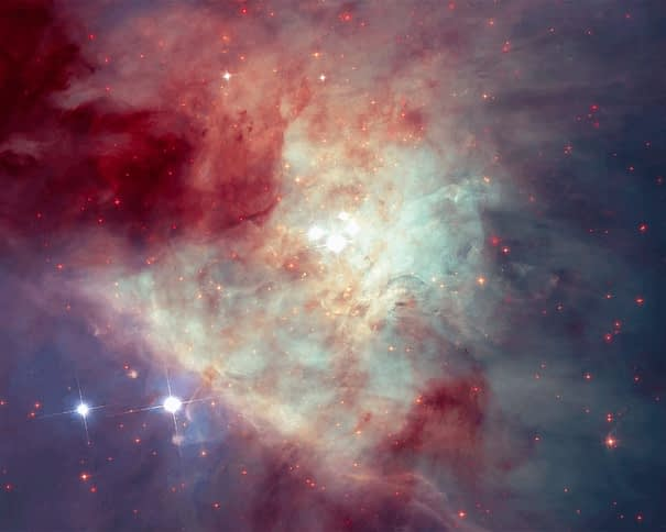The Dramatic Center of the Orion Nebula
