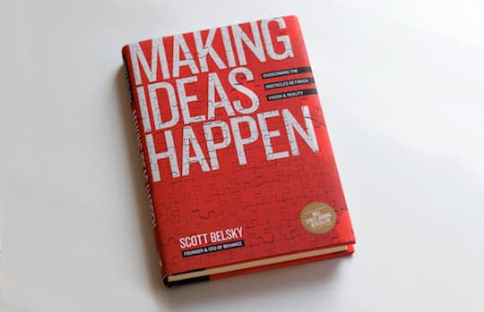 Making Ideas Happen a creative thinking book